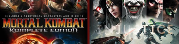 [REVIEW GAMES] – Jogo Sujo Debate – Injustice: God Aming Us e Mortal Kombat: Komplete Edition