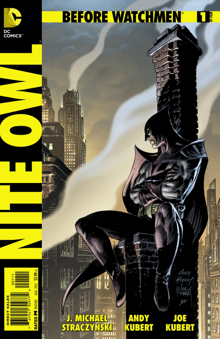 BEFORE WATCHMEN: NITE OWL #1